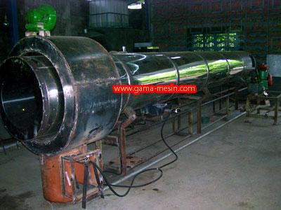 Pengering Rotary Stainlees Steel